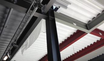 Metallträger streichen und schützen