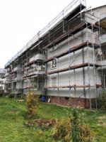 Fassadenanstrich inklusive Absetzarbeiten